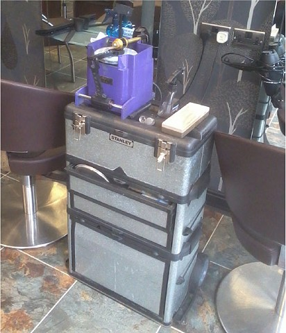 In salon